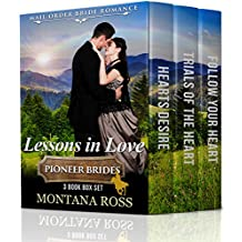 Lessons in Love: Mail Order Bride Western Romance 3 Book Box Set
