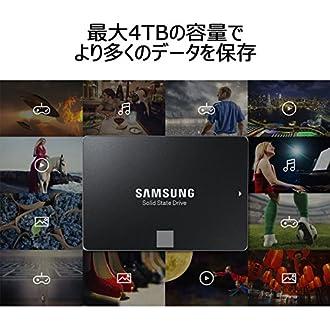 Samsung SSD 4TB 850 EVO ベーシックキット V-NAND搭載 2.5インチ 内蔵型 MZ-75E4T0B/IT