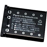 ENERG デジタルカメラ用バッテリー Nikon EN-EL10対応 COOLPIX S500/S200用 N-♯1039