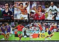 サッカー 両面ポスター 欧州選手1984~2012(プラティニ&ファンバステン&ラウドルップ&ジダン&フィーゴ&トーレス&イニエスタ等)