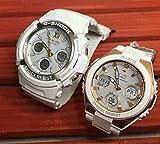 カシオCASIO 腕時計 G-SHOCK&BABY-G ペアウォッチ 純正ペアケース入り ジーショック&ベビージー 2本セット アナデジ ソーラー電波 AWG-M100SGA-7AJF MSG-W100G-7AJF