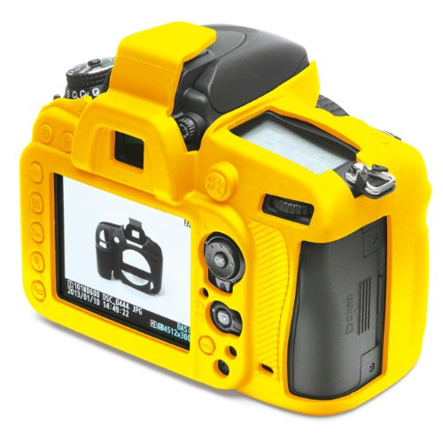 DISCOVERED イージーカバー Nikon D610 用カメラカバー (イエロー)