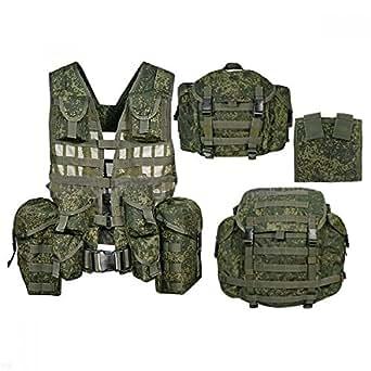 ロシア軍 6sh117 タクティカルベスト&バックパックセット FSB OMOH SOBR 実物! レア品!