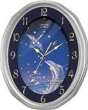 CITIZEN (シチズン) 掛け時計 ネムリーナファンタジー 電波時計 4MY659-019
