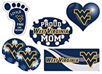 West Virginia Mountaineers Proud Mom 6 Pieceデカールセット