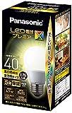パナソニック LED電球 口金直径26mm プレミアX 電球40形相当 温白色相当(4.9W) 一般電球 全方向タイプ 密閉器具対応 LDA5WWDGSZ4