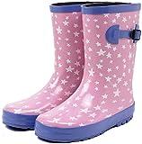 (セレブル) Celeble レインブーツ キッズ 女の子 男の子 ジュニア 長靴 雪 子供靴 スターピンク 17.0