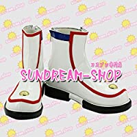 【サイズ選択可】男性28CM★コスプレ靴 ブーツ★201220★VOCALOID ボーカロイド★初音ミク Miku