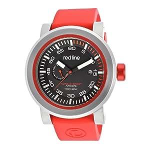 RED LINE(レッドライン) 50047-01RD-RDST Torque Sport/トルクスポート 自動巻き ラバーバンド レッド ブラックダイアル メンズウォッチ 腕時計[並行輸入品]