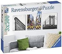 3x572ピース ジグソーパズル ニューヨークインプレッション New York City Impressionen  (50 x 50 cm)