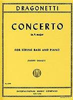 DRAGONETTI - Concierto en La Mayor para Contrabajo y Piano (Nanny/Sankey)