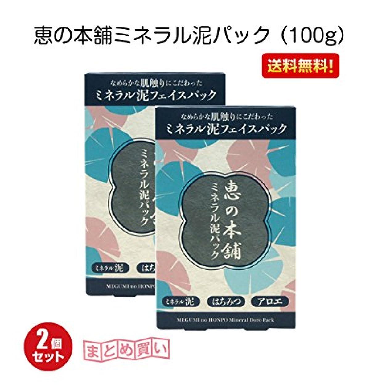 アナニバーマダムぼかし恵の本舗ミネラル泥パック (100g)2個セット