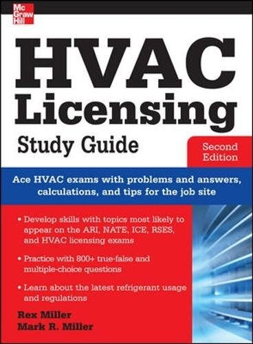 Download HVAC Licensing Study Guide, Second Edition 0071798277