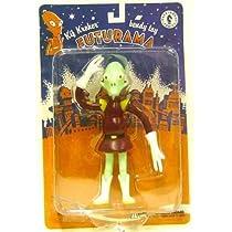 Futurama Kif Kroker Bendy Toy Figure フィギュア ダイキャスト 人形(並行輸入)