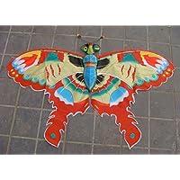 濰坊凧:伝統凧:3D チョウ凧 図案も手作りで描かられています, 観賞やコレクター、凧を揚げること、贈り物にピッタリです