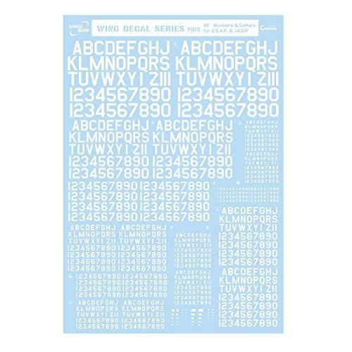サンコーマーク工業 M02 45度 Numbers&Lett...