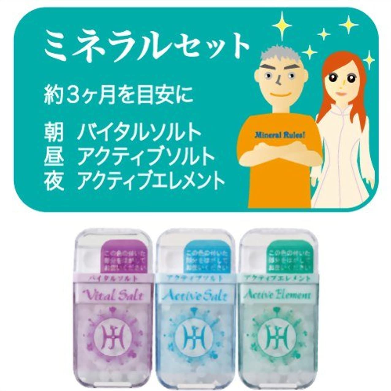 つかの間満了満員ホメオパシージャパンレメディー ミネラルセット