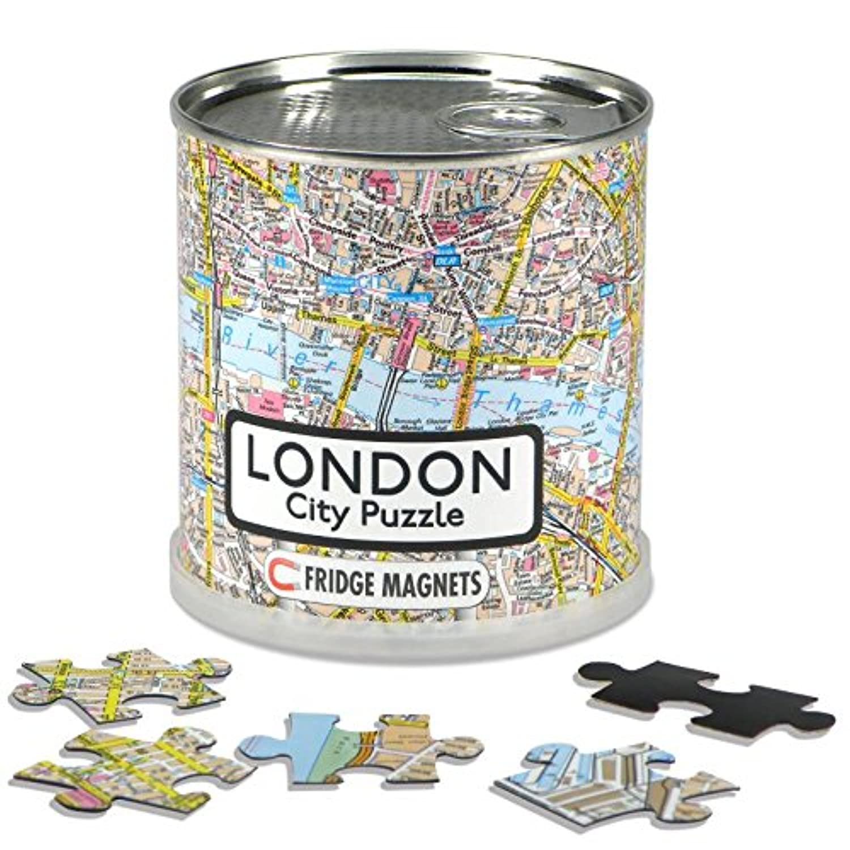 CITY PUZZLE LONDRES 100 pièces magnét.