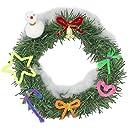クリスマス リース 作り 10個組 子ども会 クリスマス会 に人気の簡単 工作 キット