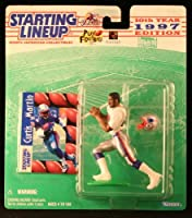 CURTIS MARTIN / NEW ENGLAND PATRIOTS 1997 NFL Starting Lineup Action Figure & Exclusive NFL Collector Trading Card