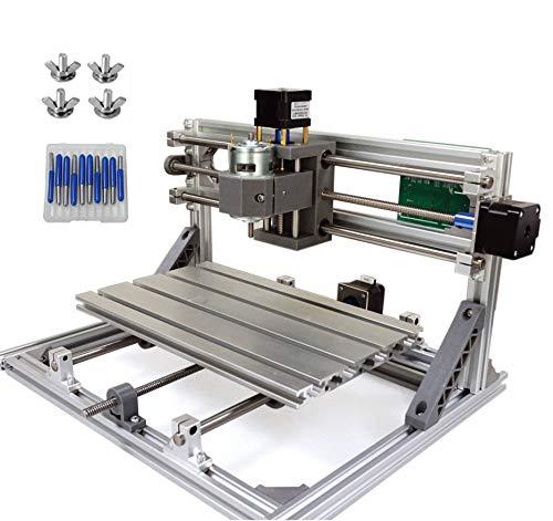 RATTMMOTOR CNCルータキット CNC3018 ミニフライス盤 USB卓上彫刻機 PVC、木材、木工用 CNC 3018 Mini PCB Milling Machine USB Desktop Engraving Machine, For Wood, Woodworking