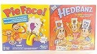 ボードゲームバンドルPie Face and Hedbanz by Pie Face