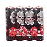パナソニック 単3形マンガン乾電池 ネオ ブラック 1.5V 4本パック R6PNB/4VSE