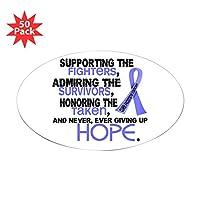 CafePress–??Supporting Admiring 3.2前立腺がんシャツS–ステッカー(楕円形50pk ) 061783484633332
