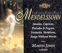 Piano Music by FELIX MENDELSSOHN (1997-10-07)