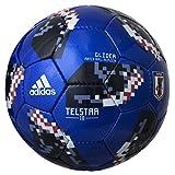 adidas(アディダス) サッカーボール 5号球 テルスター18 グライダー 2018年 FIFAワールドカップ 試合球 JFA検定球 AF5306JP 日本代表(青)