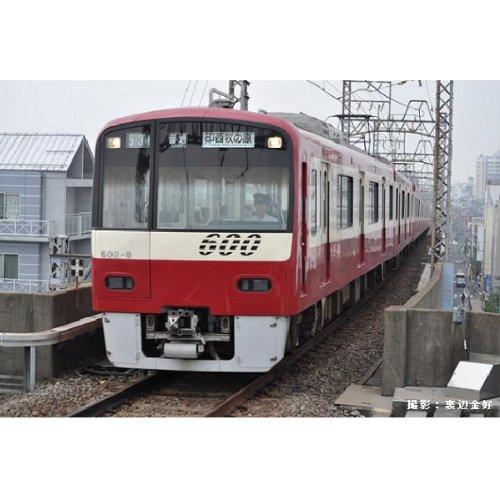 Nゲージ A7177 京急600形・赤・更新車 前面スリットナンバー8両セット