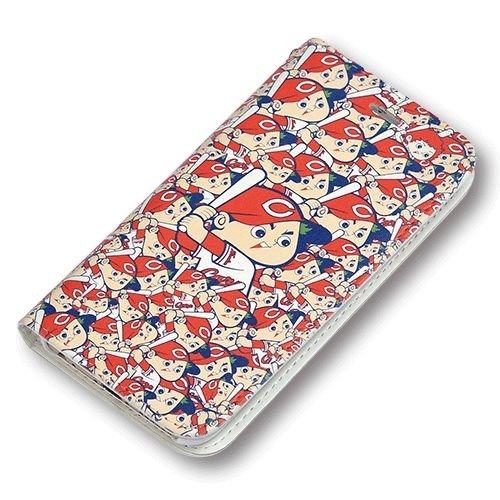 [ 広島東洋カープオフィシャルグッズ ] iPhone6/6S/7/8ブック型ケース(坊やいっぱい)
