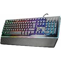 TRUST 「GXT 860」 セミ・メカニカルゲーミングキーボードThura Semi-mechanical Keyboard 21839