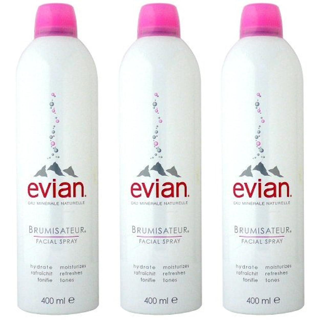 適切な論争的マイルドエビアン(evian) ブルミザトワール (化粧水) 400ml×3[並行輸入品]