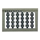 レボリューションファクトリー Nゲージ 製造銘板EF65セット 青15号   RLF193
