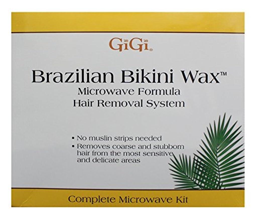 きょうだい従事する不快GiGi Brazilian Bikini Wax Microwave Kit
