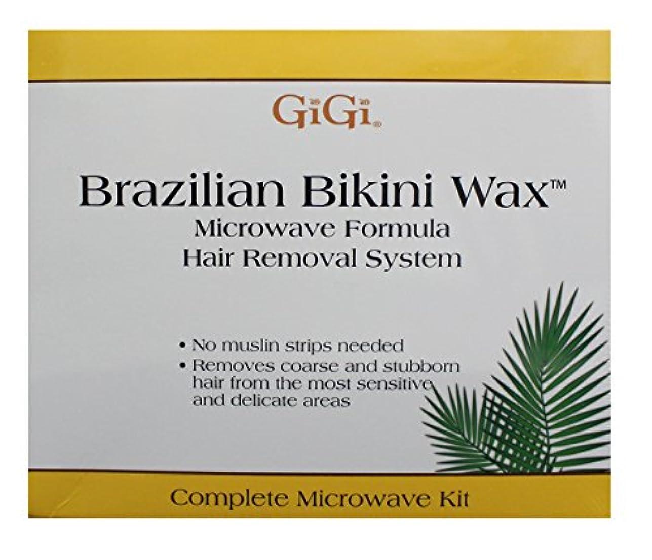 に付ける輝度尽きるGiGi Brazilian Bikini Wax Microwave Kit