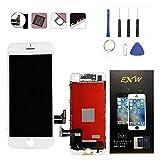 HYS-Tech for iPhone7 交換修理 フロントパネル 液晶 パネル修理工具パーツ付き 液晶割れ(白) [並行輸入品]