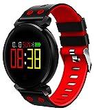 Liebeye スマートブレスレット 腕時計 IP68 防水 Bluetooth 血圧 血液酸素モニター 心拍計 スマートウォッチ 多機能