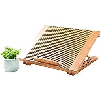 BoohomeノートPCスタンドUSB扇風機内蔵 らくらく放熱 多角度調整可能 エコ素材天然竹製 熱伝導率UP 落下防止のストッパー機能完備