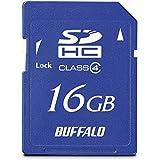 BUFFALO Class4 SDHCカード 16GB RSDC-S16GC4B