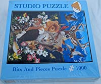 Bits and Pieces 1000 Piece Studio Puzzle 20' X 27' North American Wildlife=p [並行輸入品]