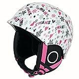 SWANS(スワンズ) ジュニア スキー・スノーボードヘルメット H-55 W/RD ホワイト×レッド