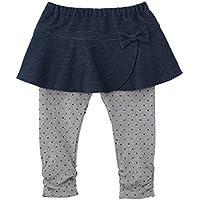 ミキハウス ホットビスケッツ (MIKIHOUSE HOT BISCUITS) スカート付パンツ 73-3203-611 (90, インディゴブルー)