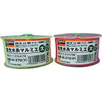 TRUSCO(トラスコ) 蛍光水糸マルミエ 細 500m ピンク MI-500-P