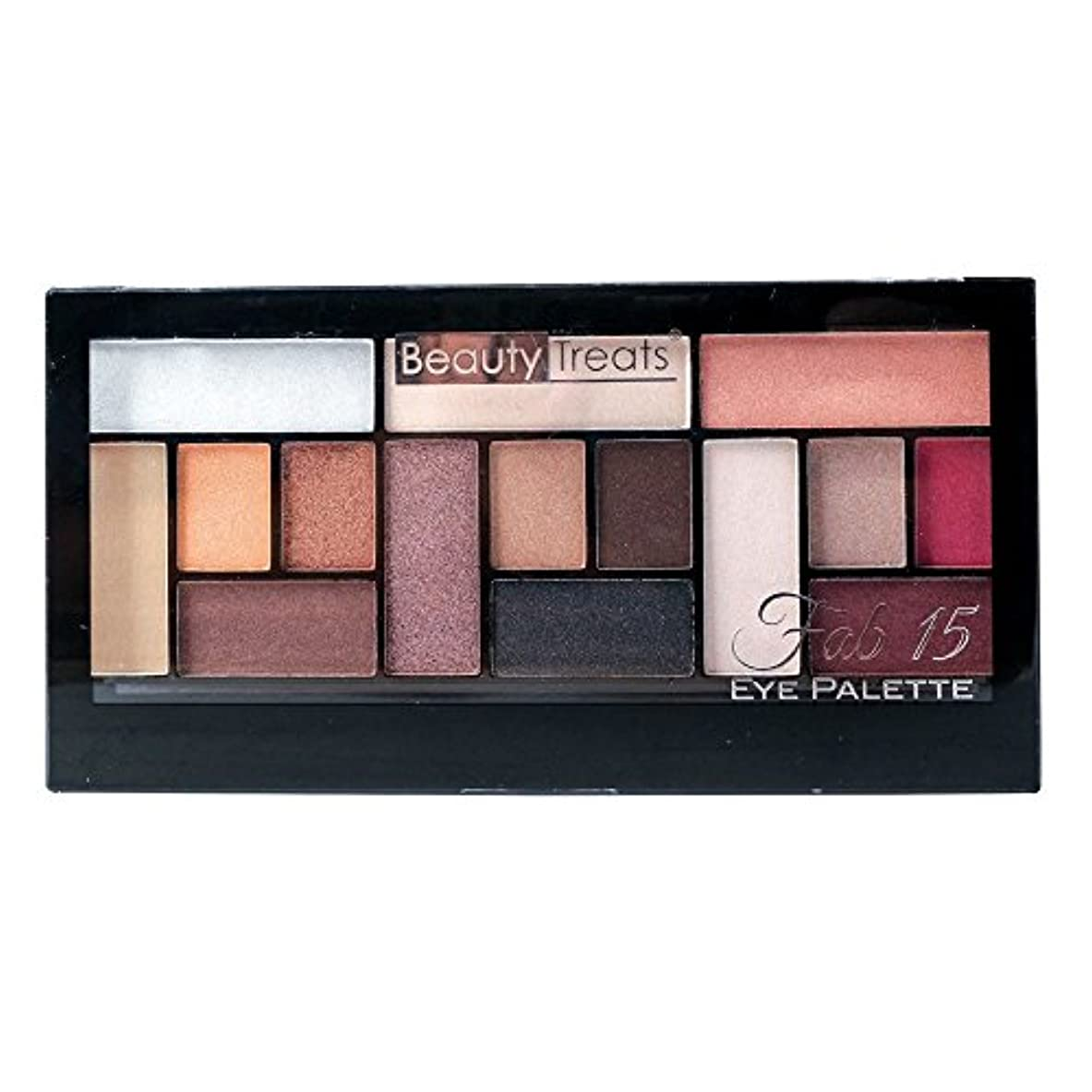 BEAUTY TREATS Fab 15 Eye Palette (並行輸入品)