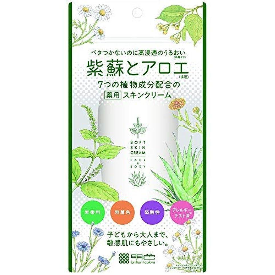 誇りに思うゴミ箱を空にする徐々に紫蘇とアロエ 薬用スキンクリーム × 12個セット
