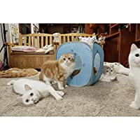 Kitty Play Cube (baby blue)#The best cat toy by CAT1st