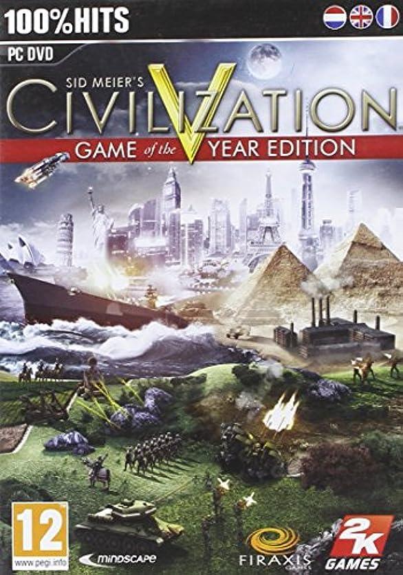 おっとくるくる連鎖Sid Meier's Civilization V Game Of The Year Edition (PC DVD)