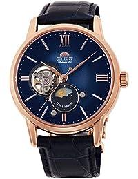 [オリエント]ORIENT クラシック SUN&MOON セミスケルトン 数量限定 腕時計 機械式(手巻付) ブルーグラデーション RN-AS0004L メンズ